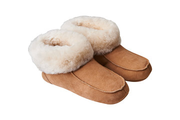 Lamswollen Pantoffels