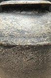 oude stenen pot_