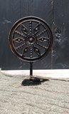 Metalen ornament zon_