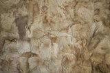 Toscaans lamsvacht kleed patchwork, Beige_