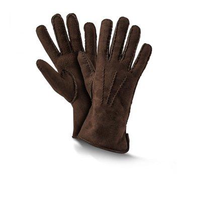 Vingerhandschoen Premium, Donkerbruin