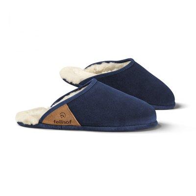 Pantoffel Trendy Alcantara, Blauw
