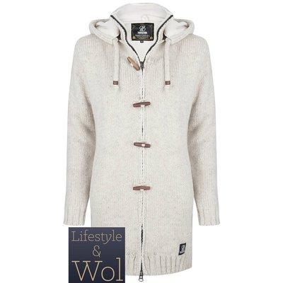 Schapenwollen Vest Woodcord, Beige