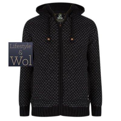Schapenwollen Vest Merlin, Zwart