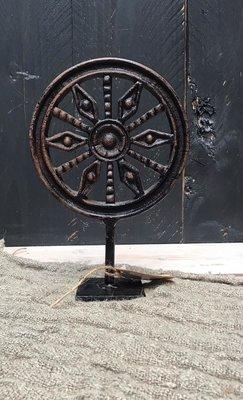 Metalen ornament zon