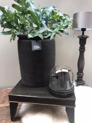 Still Cillinder Pot L - Black series