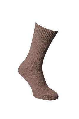 Alpaca sokken dun, Donkerbruin