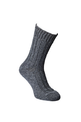 Alpaca sokken dik, Antraciet